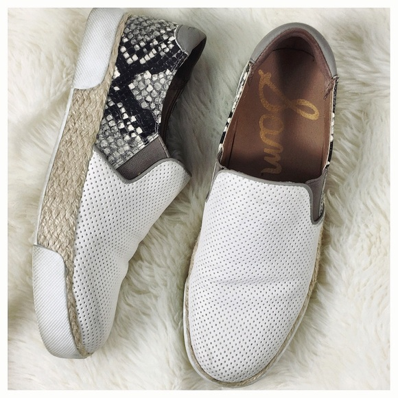 1af25cc38a8092 Sam Edelman Banks Perforated Slip On Sneaker. M 5b69f2be7ee9e215244380e2